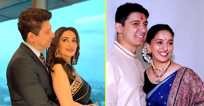 Shriram Nene shares a cute picture with wife Madhuri Dixit and writes a sweet note with it