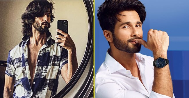 Shahid Kapoor shares a mirror selfie as he flaunts his muscles