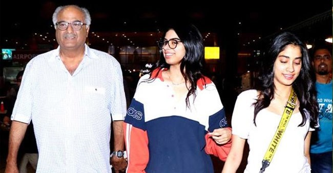 Boney, Janhvi & Khushi to stay at Sridevi's Chennai home for the first time after she passed away