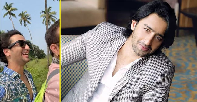 Shaheer Sheikh jams to song Socha Hai as he rides around on bike in Goa
