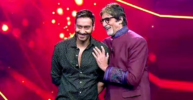 Amitabh Bachchan and Ajay Devgn to join hands for a thrilling drama