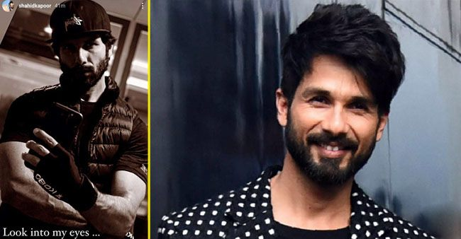 Shahid Kapoor shares a post workout monochromatic mirror selfie as he preps for 'Jersey'