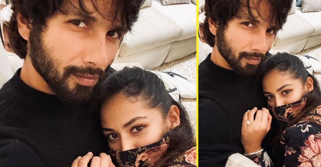 Shahid Kapoor shares a love filled selfie with wife Mira Rajput