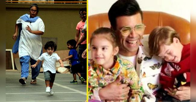 Glimpses of Bollywood's adorable toddlers at their mischievous best