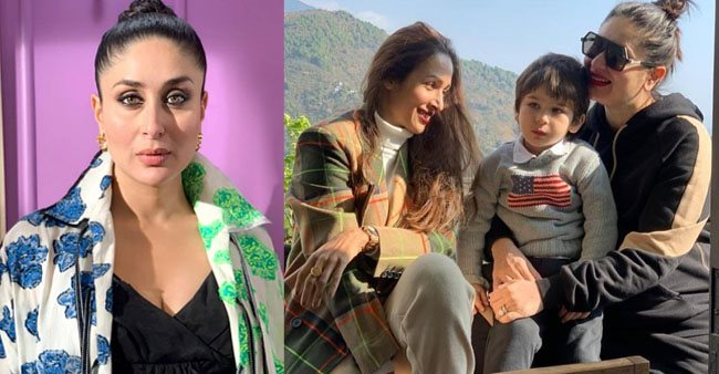 Malaika Arora shares a love filled picture with BFF Kareena and her son Taimur