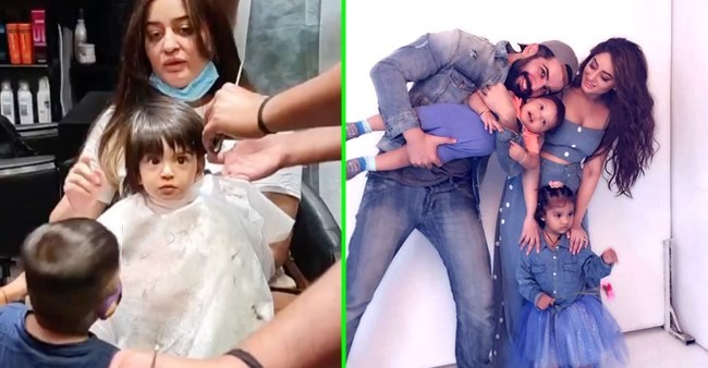 Jay Bhanushali shares a video as his daughter, Tara is ready to have a mundan ceremony