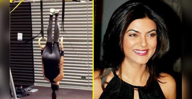 Actress Sushmita Sen shares a mesmerising workout video with her fans