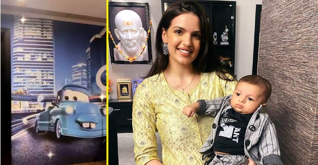 Natasa Stankovic shares a glimpse from son Agatya's car themed room