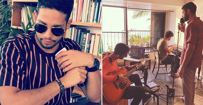 Siddhant Chaturvedi Impresses Fans With His Creative Skills As He Enjoys A Jamming Session At Home