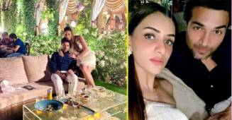 Smriti Khanna and Gautam Gupta enjoy a dinner date on their 3rd anniversary