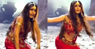 Surbhi Chandna leaves her fans stunned with her impeccable tandav moves