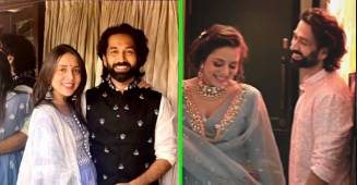 Nakuul Mehta grooves with wife Jankee on a romantic song on her Godh Bharai Rasam