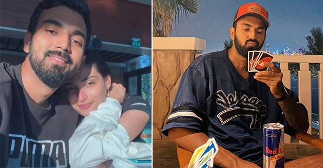KL Rahul Posts A Candid Pic Of Himself Holding UNO Cards; Rumored GF Athiya Reacts