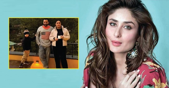 Bebo Posts An Adorable Family Pic From Their Recent Trip To Dharamshala