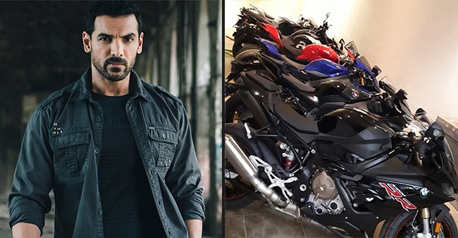 John Abraham's 'Candy Shop' Aka Bike Collection Will Surely Leave Many Green With Envy