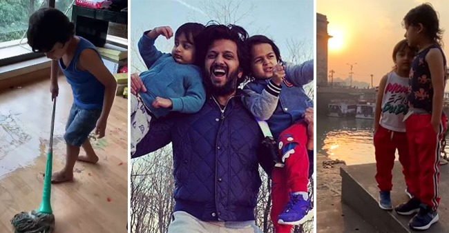 Doting Mom & Dad's Happiness Knows No Bounds As Their Young Boy Riaan Turned 6