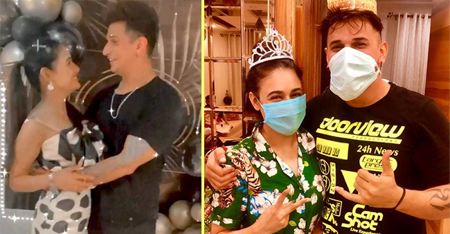 Yuvika Chaudhary Posts Videos From Hubby Prince's Birthday Bash, Calls Him 'My Life'