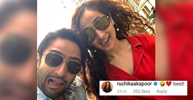 Shaheer Posts A Pic With Supposed GF Ruchikaa; Elated Actress Calls It 'Best'