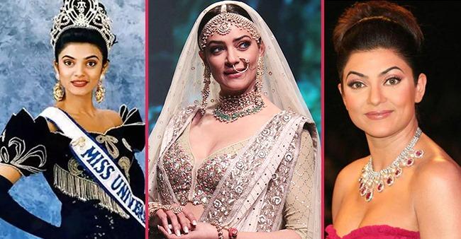 Sushmita's Doting Bro Rajeev, SIL Charu & BF Rohman Share Warm Wishes On Her 45th Birthday