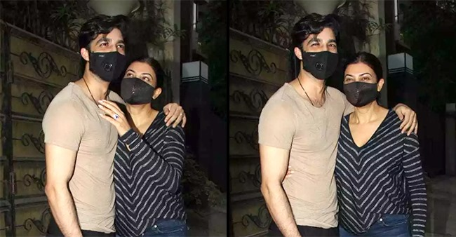 Sushmita Sen Seen Pampering BF Rohman As They Step Out Together In The City; Pics