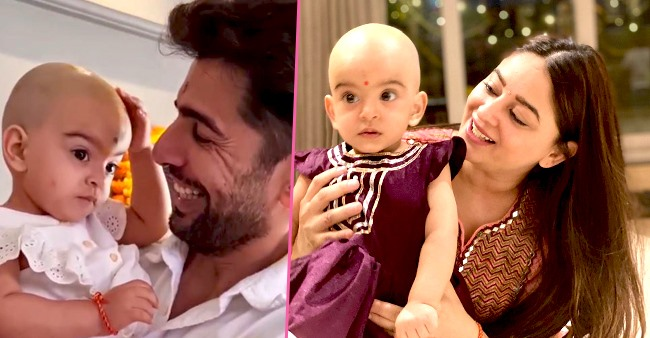 Mahhi Vij Shares A Super Cute Pic Of Her Little Girl Tara Jay Bhanushali's After 'Mundan' Look
