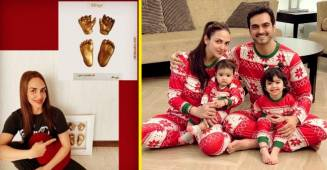 Esha Deol shares a picture of framed impressions of her daughter Miraya