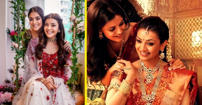 Kajal Aggarwal's sister Nisha Aggarwal shares a reel v/s real picture of her wedding