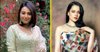 Swara Bhaskar requests actress Kangana Ranaut to spare the elderly