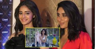 Ananya Panday leaves Kareena Kapoor Khan stunned with her K3G themed jacket