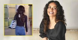 Netizens Make Fun Of Manushi Chillar As She Forgets To Remove Price Tag From Her T-Shirt