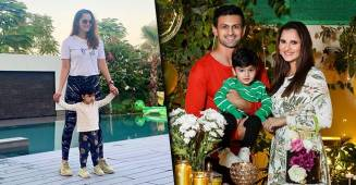 Sania Mirza Posts A 'Cool' Pic With Baby Izhaan & Mom-Son's Gem Proves 'Twinning Is Winning'