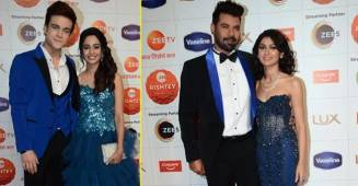 Shabir, Sriti, Ankita, Juhi, Shraddha & Others Grace Zee Rishtey Awards Red Carpet