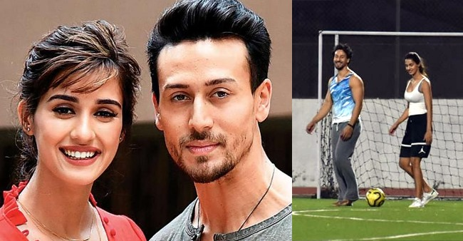 Disha Clicked By Tiger's Side As Actor Gets Hurt On Football Field