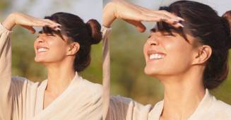 Jacqueline Posts Sunkissed Pic From The Sets Of Bachchan Pandey; Fans Call Her 'Cutie'
