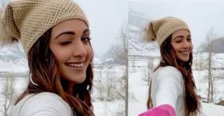 Kiara Shares Her Manali 'Snow Glow' By Posting A Boomerang Video