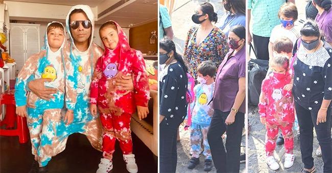 KJo Posts A 'PawriHoRiHai' Glimpse From Manish Malhotra's Bash With Sara, Kiara & Pari