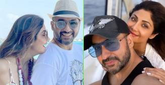 Shilpa & Raj Take Time Off To Enjoy A Beach Destination In Maldives