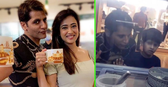 Shweta Tiwari's Son Reyansh Surely Enjoyed The Company Of Karanvir Bohra; Enjoy Pics
