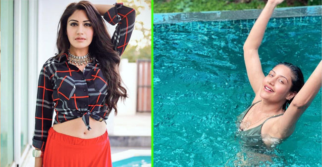 Naagin 5 Fame Surbhi Chandna Teases Her Fans With Her New Pool Pic