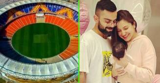 Anushka Takes Vamika To Stadium To Cheer For Dad Virat; Fans Hope To Get A Glimpse Of Baby