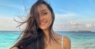 Shraddha Kapoor Wishes 'Good Morning' With A Beautiful Pic All The Way From Maldives