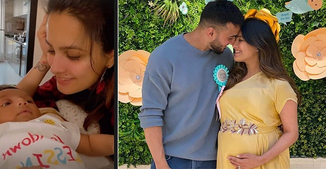 Anita Hassanandani Showers Son Aarav With Kisses During Their Playtime Together