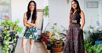 Inside Tour Of Bhumi's Sea-Facing Apartment With A Lovely Garden, Grand Chandelier & A Filmy Spot