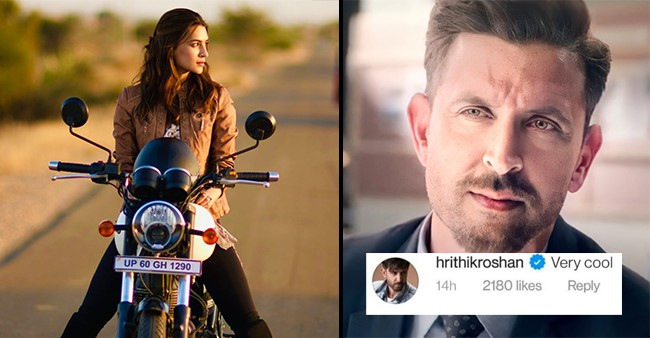 Kriti Sanon Is Missing Her New 'Friend'; Hrithik Has A 'Cool' Reply To It