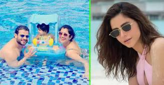 TV Stars Like Karan, Aamna & Others Dished Out Vacay Goals With Their Maldivian Pics