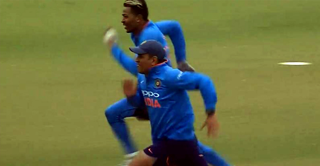 MSD Defeated A 12-Year Younger Pandya In A 100-Mt Race Happened In 2017