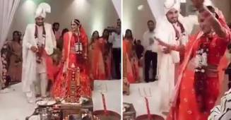 Bride & Groom Dance During Pheras In Viral Video; Netizens Get Divided