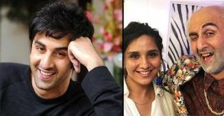 Ranbir's Bald Look Pics For Reaches Web, Actor Poses With Make-Up Expert For Massive Transformation
