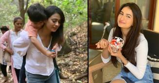 Shweta Tiwari Spends Quality Time With Daughter Palak & Son Reyansh In Mahabaleshwar
