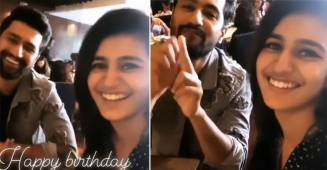 Priya Varrier Met Vicky Kaushal During URI Screening & Made Him Recreate Popular 'Wink' Scene